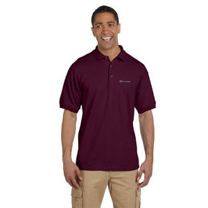 Gildan Ultra Cotton 6.5 oz Pique Polo MAROON