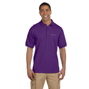 Gildan Ultra Cotton 6.5 oz Pique Polo PURPLE