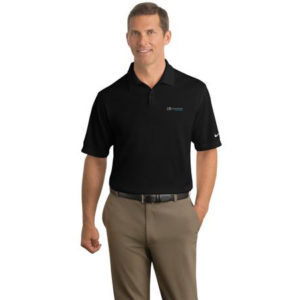 Nike Golf - Dri-FIT Pebble Texture Polo Black